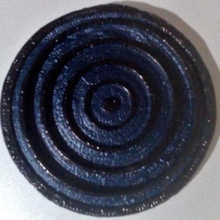 Rinnegan Sharingan for Keychain or Pendant