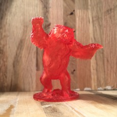 Picture of print of Owlbear - D&D miniature