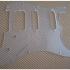 Pickguard and Tremologuard transparent laser cut image