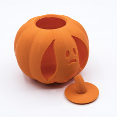 Picture of print of Pumpkin, Ghost
