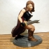 Desktop Hero Heroine with Cape and 2 Swords image