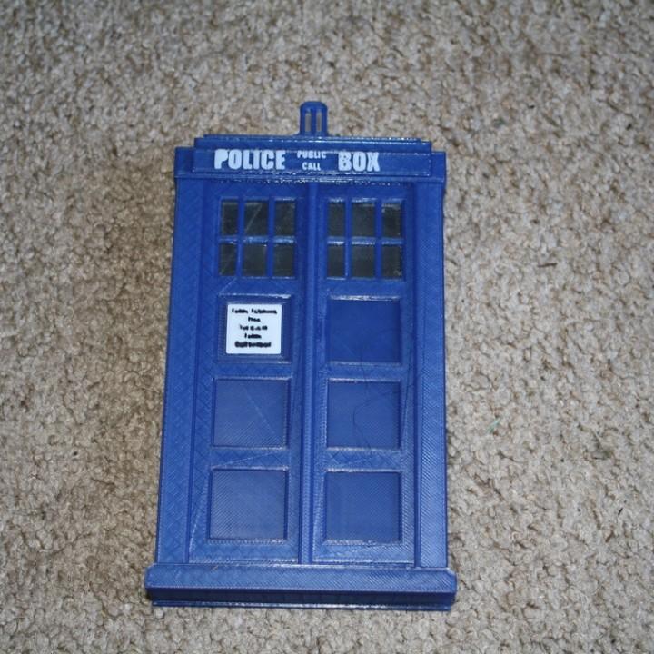 Doctor Who TARDIS Enclosure For Sabrent Hard Drive Enclosure