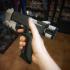 Federated Arms 'Vindicator' pistol, Cyberpunk 2077 print image