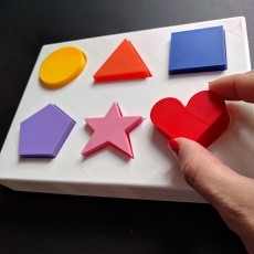 Shapes Puzzle Toy for Toddlers