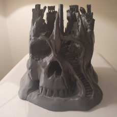 Picture of print of Skull City