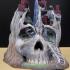 Skull City print image