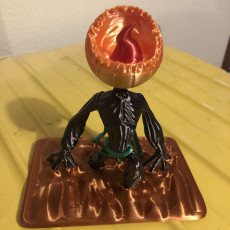 Picture of print of Screaming Pumpkin