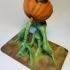 Screaming Pumpkin print image