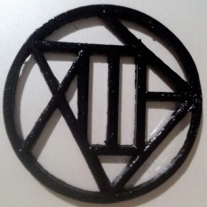 The Akimichi clan's symbol for Keychain or Pendant