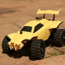 Rocket League Octane RC Car 1/32