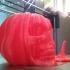 Pumpkin Skull Tealight Lantern print image