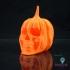 Pumpkin Skull Tealight Lantern image