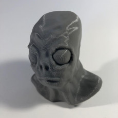 Picture of print of Aaron the Alien