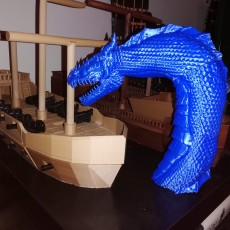 Picture of print of Sea Serpent - Leviathan
