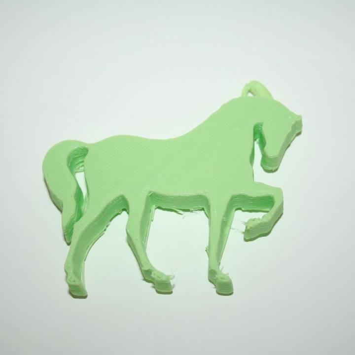 Keychain : Horse