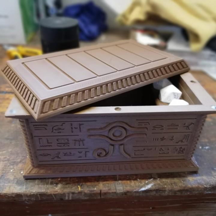 Millenium Puzzle Sarcophagus