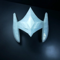 Picture of print of Eta helmet from Saint Seiya Asgard Saga