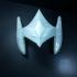 Eta helmet from Saint Seiya Asgard Saga print image