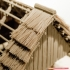 3D printed house - log cabin - cottage image