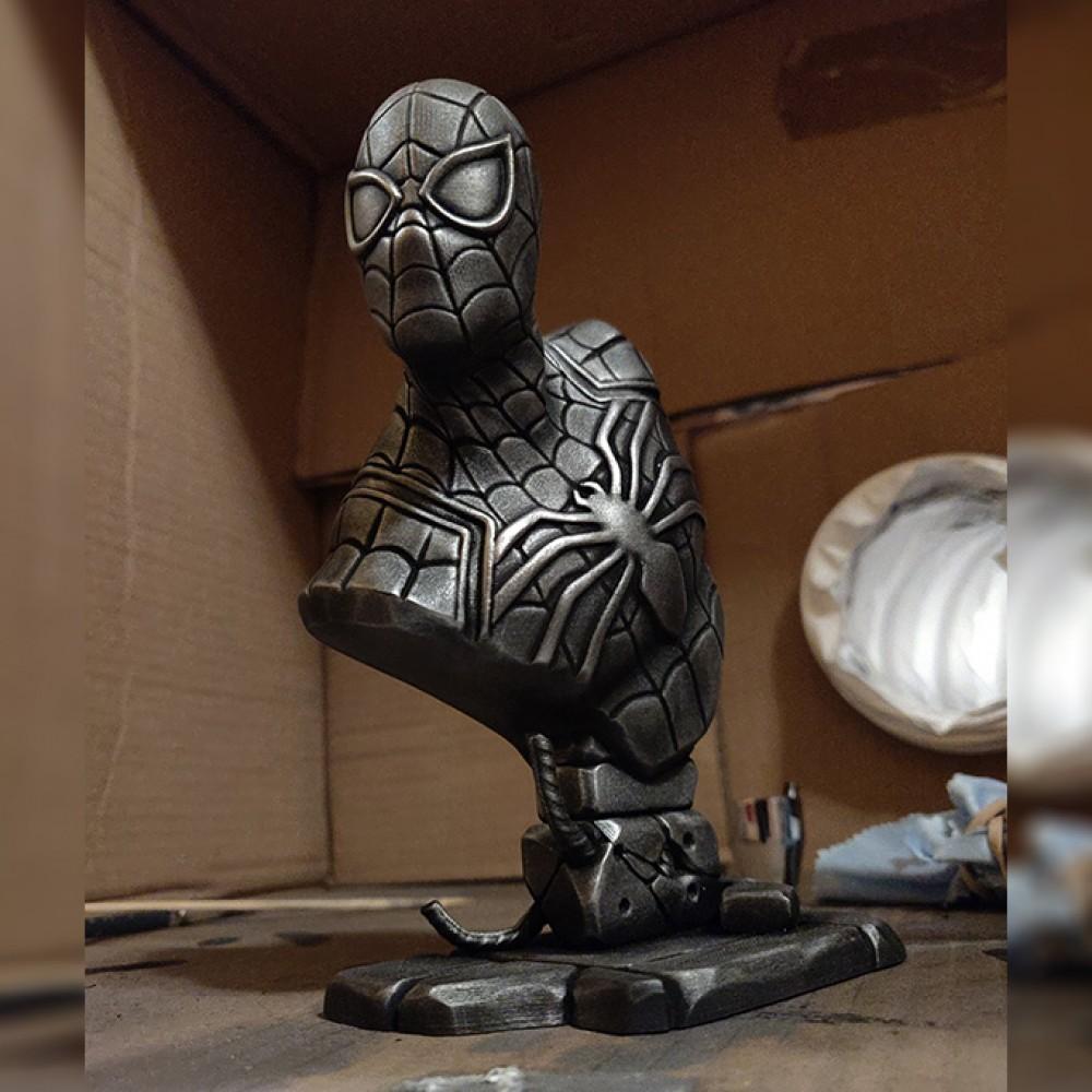 1000x1000 spider man bust 7
