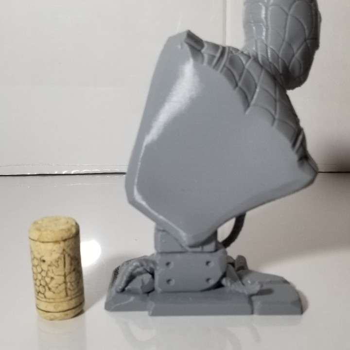 3D Print of Spider-Man bust by Alien3D