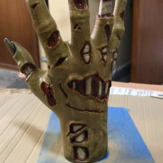 Picture of print of Zombie hand This print has been uploaded by Carlos Mercader Conesa