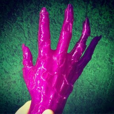 Picture of print of Zombie hand This print has been uploaded by Steve Abrams