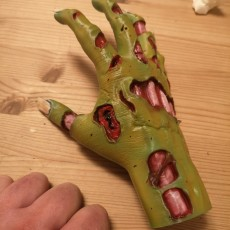Picture of print of Zombie hand This print has been uploaded by Robert Kirkpatrick