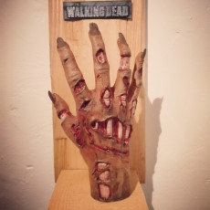 Picture of print of Zombie hand This print has been uploaded by OlliG
