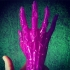 Zombie hand print image