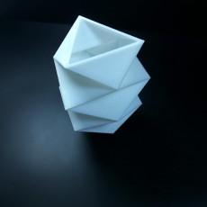 Picture of print of Triangular Vase