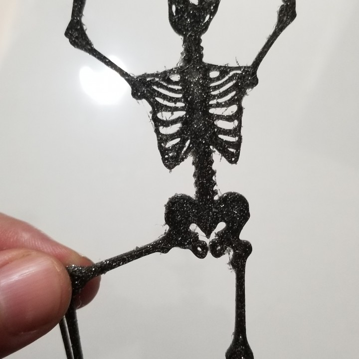 Halloween Skeleton Silhouette