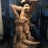 """Gorilla defeating a Gladiator (""""Retiaire et Gorille"""") image"""