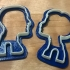 Man&Woman cookie cutter image
