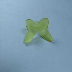 Picture of print of butterfly ring
