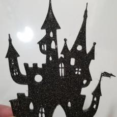 Halloween Castle Silhouette