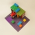 Duplo base 15 x 18 with  5 stud wide road image