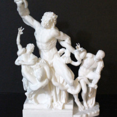 Picture of print of Laocoön and His Sons