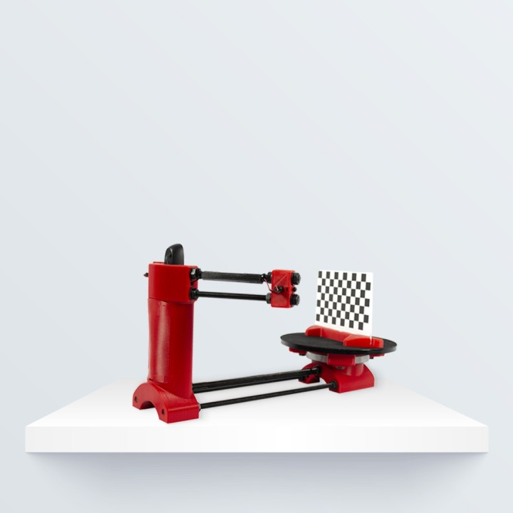 3D Printable Ciclop 3D Scanner by BQ 3D
