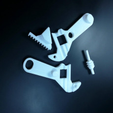Picture of print of functional adjustable wrench