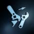functional adjustable wrench image