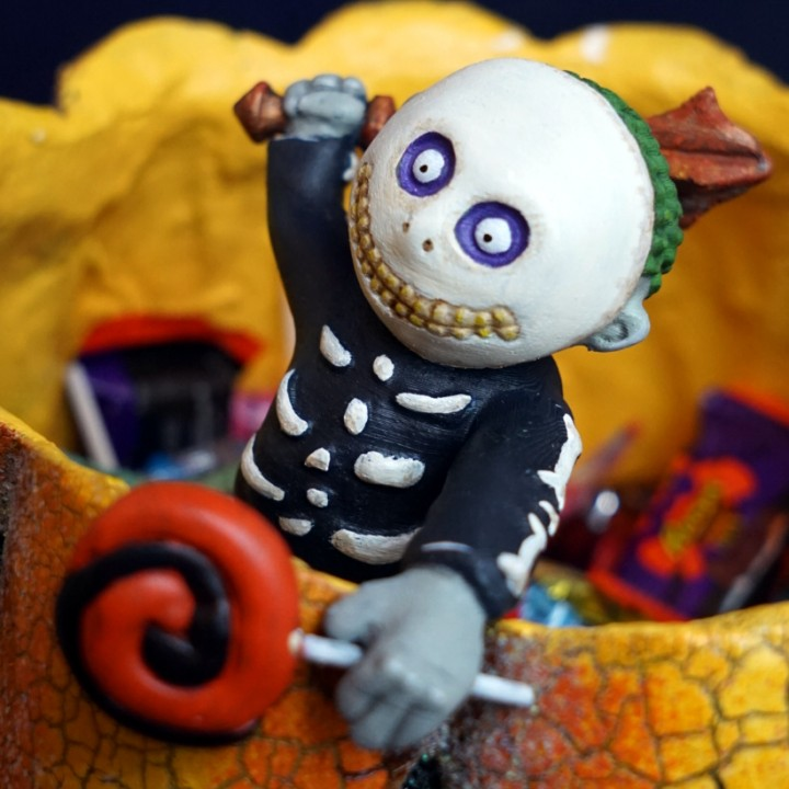 3D Printable Nightmare Before Christmas - Oogie Boogie\'s Henchman ...