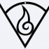 The Hyuuga clan symbol for Keychain or Pendant image