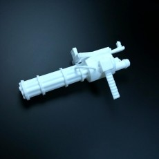 Picture of print of Minigun
