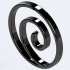 The Uzumaki clan symbol for Keychain or Pendant image