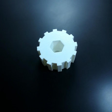 Picture of print of Geeetech i3 hotbed adjustment knob