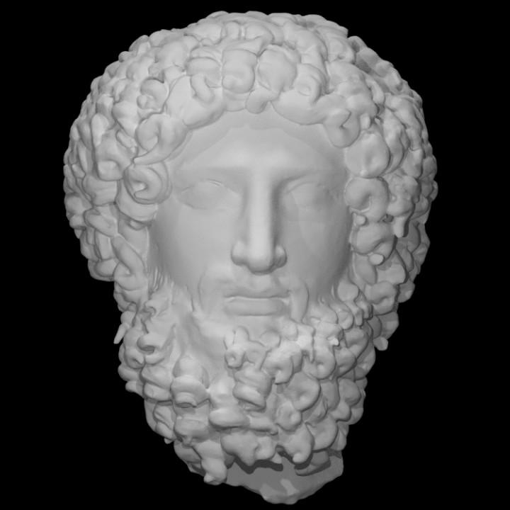 Head of the Greek God Hades