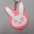 D.VA OVERWATCH Keychain Bunny image