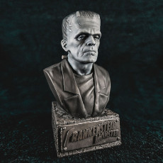Picture of print of Frankenstein Monster