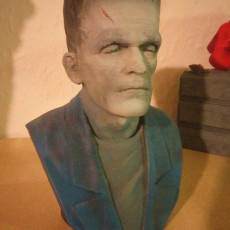 Picture of print of Frankenstein Monster This print has been uploaded by Shaun Linnell